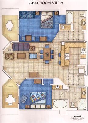 Awg marriott surf club - Marriott aruba surf club 2 bedroom villa ...